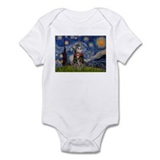 Starry Night / Tiger Cat Infant Bodysuit