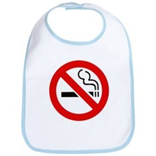 International No Smoking Sign Bib