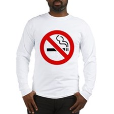 International No Smoking Sign Long Sleeve T-Shirt
