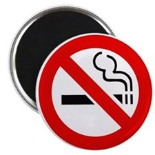 "International No Smoking Sign 2.25"" Magnet (100 pa"
