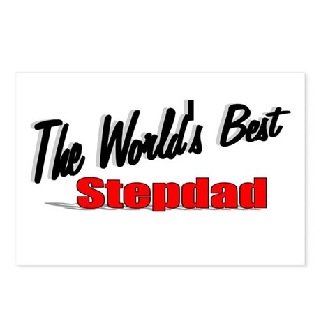 """The World's Best Stepdad"" Postcards (Package of 8"