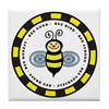 The Bee Line Tile Coaster