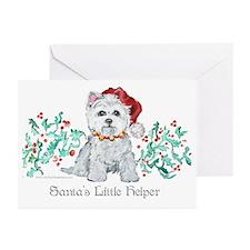 Westhighland White Terrier Sa Greeting Cards (Pk o