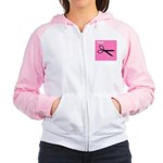 istyle (pink) Women's Raglan Hoodie