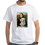 Mona's Light Golden (O) White T-Shirt