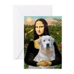 Mona's Light Golden (O) Greeting Cards (Pk of 10)