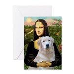 Mona's Light Golden (O) Greeting Card