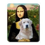 Mona's Light Golden (O) Mousepad