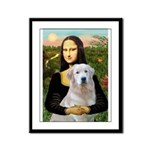 Mona's Light Golden (O) Framed Panel Print