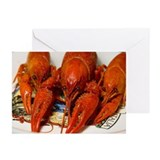 Crawfish Greeting Cards (Pk of 10)
