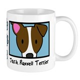 Anime Jack Russell Terrier Coffee Mug