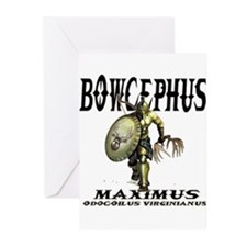 Bowcephus bow hunting art thi Greeting Cards (Pk o