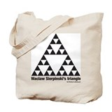 Unique Sierpinski Tote Bag
