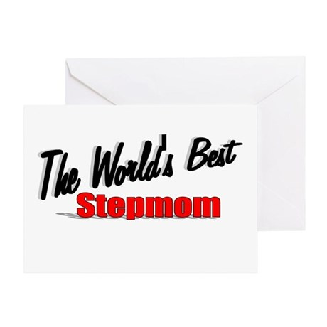 """The World's Best Stepmom"" Greeting Card"