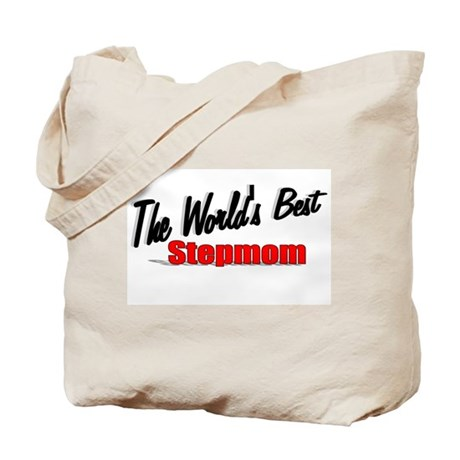 """The World's Best Stepmom"" Tote Bag"
