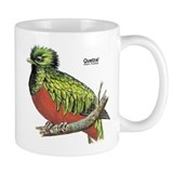 Quetzal Rain Forest Bird Small Mug