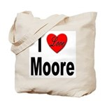 I Love Moore Tote Bag