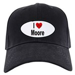I Love Moore Black Cap
