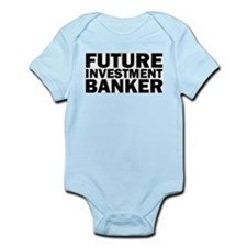 Future Investment Banker Infant Creeper