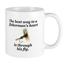 """Way to a Fisherman's Heart"" Mug"