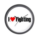 I love fighting Wall Clock