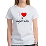 I Love My Agrarian Women's T-Shirt