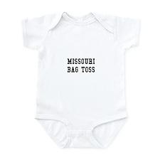 Missouri Bag Toss Infant Bodysuit