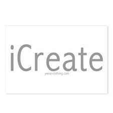 iCreate Postcards (Package of 8)