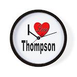 I Love Thompson Wall Clock