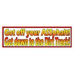 ASSphalt Sticker (10x3 Bumper)