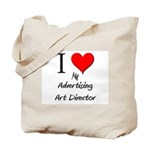 I Love My Advertising Art Director Tote Bag