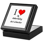 I Love My Advertising Art Director Keepsake Box