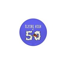 Flying High at 50 Mini Button