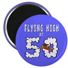 "Flying High at 50 2.25"" Magnet (10 pack)"