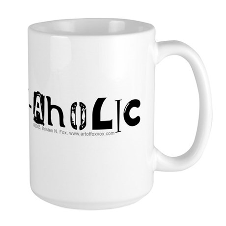 Collage-Aholic Large Mug