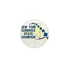 New York Cornhole State Champ Mini Button