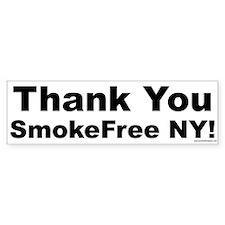 Bumper Sticker: Thank You SmokeFree NY!