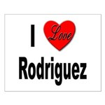 I Love Rodriguez Small Poster