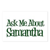 Ask Me About Samantha Postcards (Package of 8)