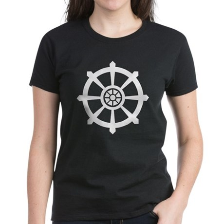 Dharma Wheel Women's Dark T-Shirt