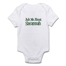 Ask Me About Savannah Infant Bodysuit