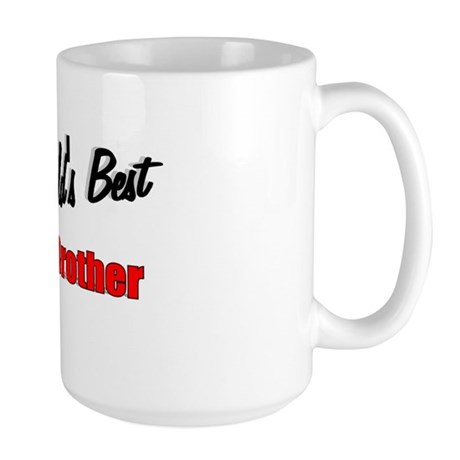 """The World's Best Twin Brother"" Large Mug"