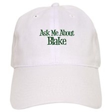 Ask Me About Blake Baseball Cap