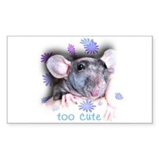 Hairless Rat Rectangle Decal