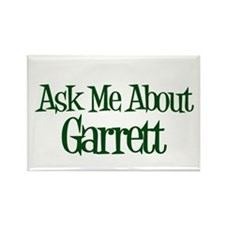 Ask Me About Garrett Rectangle Magnet (10 pack)