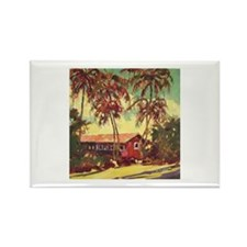 Paradise Remembered Rectangle Magnet