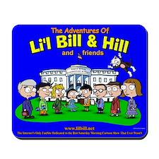 Li'l Bill & Hill and Friends Mousepad