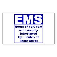 EMS - Boredom... Rectangle Decal
