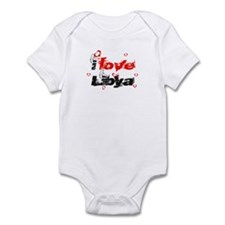 i love Libya Infant Bodysuit