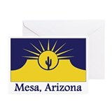 Mesa AZ Flag Greeting Cards (Pk of 20)
